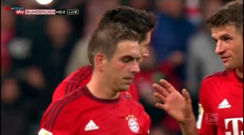 Lahm, Lewandowski & Müller – Bayern v Wolfsburg 2