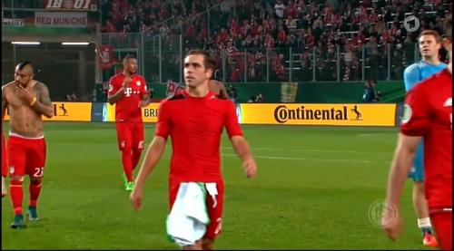 Lahm, Lewandowski & Neuer – Wolfsburg v Bayern (DFB Pokal 15-16) 3