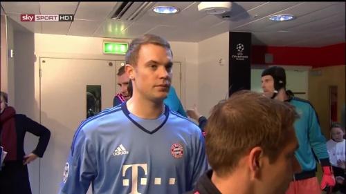 Manuel Neuer - Arsenal v Bayern 1