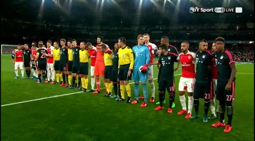 Manuel Neuer - Arsenal v Bayern 10