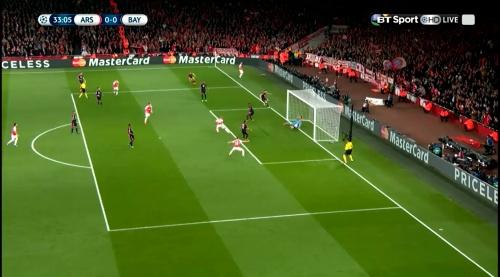 Manuel Neuer - Arsenal v Bayern 11