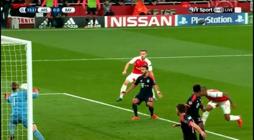 Manuel Neuer - Arsenal v Bayern 13