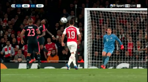 Manuel Neuer - Arsenal v Bayern 16