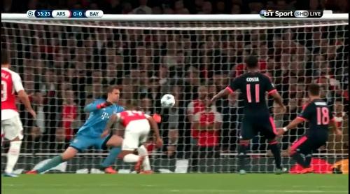 Manuel Neuer - Arsenal v Bayern 17