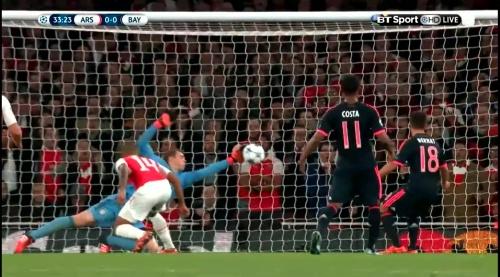 Manuel Neuer - Arsenal v Bayern 18
