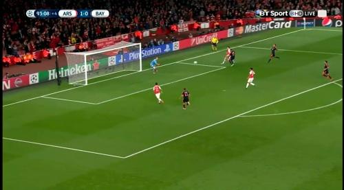 Manuel Neuer - Arsenal v Bayern 19