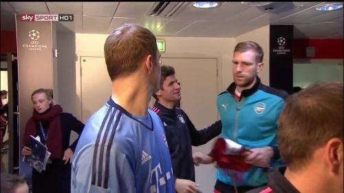 Manuel Neuer - Arsenal v Bayern 2