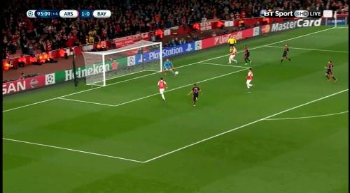 Manuel Neuer - Arsenal v Bayern 20