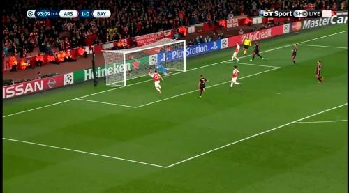 Manuel Neuer - Arsenal v Bayern 21
