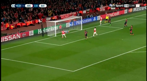 Manuel Neuer - Arsenal v Bayern 22
