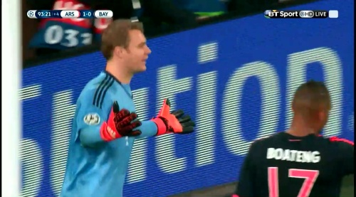 Manuel Neuer - Arsenal v Bayern 23