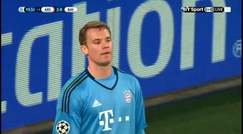 Manuel Neuer - Arsenal v Bayern 27