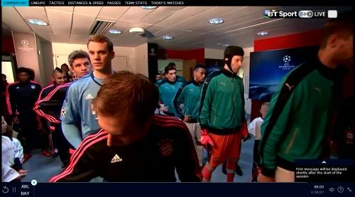Manuel Neuer - Arsenal v Bayern 3