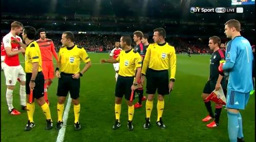 Manuel Neuer - Arsenal v Bayern 6