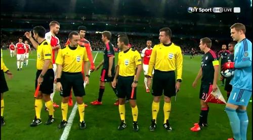 Manuel Neuer - Arsenal v Bayern 7