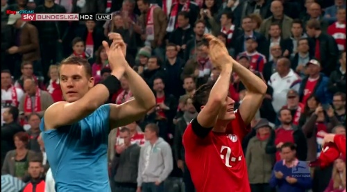 Manuel Neuer – Bayern v Wolfsburg 8