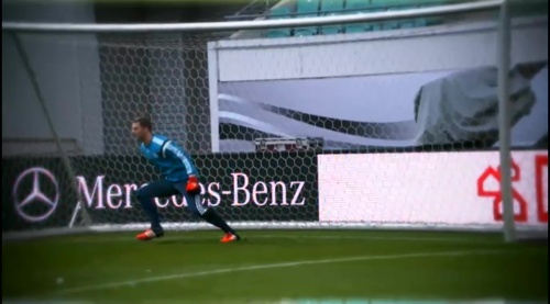 Manuel Neuer – training in Leipzig 2