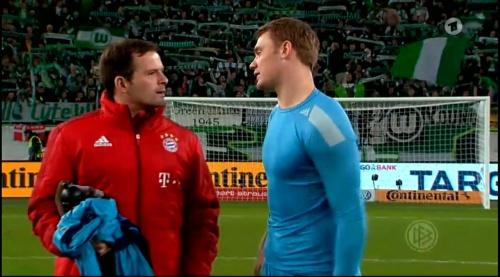 Manuel Neuer – Wolfsburg v Bayern (DFB Pokal 15-16) 12