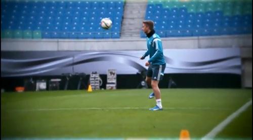 Marco Reus – training in Leipzig 2