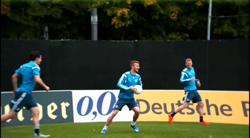 Marco Reus - training in Frankfurt