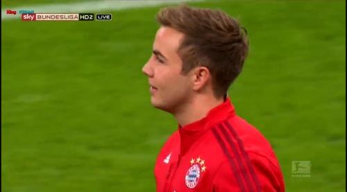 Mario Götze – Bayern v Wolfsburg 1