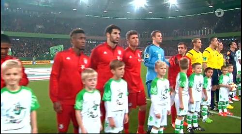 Müller, Neuer & Lahm – Wolfsburg v Bayern (DFB Pokal 15-16) 1