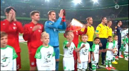 Müller, Neuer & Lahm – Wolfsburg v Bayern (DFB Pokal 15-16) 2