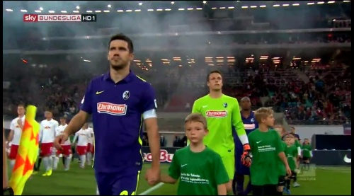 Mensur Mujdza & Alexander Schwolow - RB Leipzig v SC Freiburg
