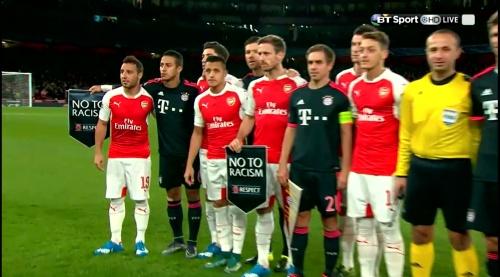 Mesut Özil & Philipp Lahm – Arsenal v Bayern 1