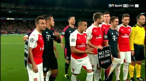 Mesut Özil & Philipp Lahm – Arsenal v Bayern 2