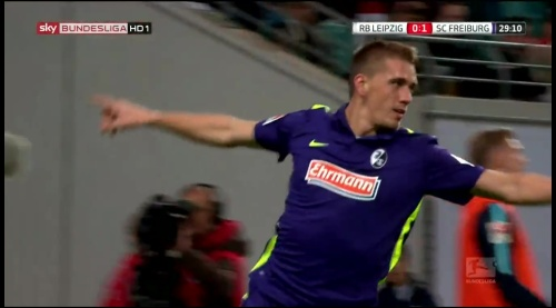 Nils Petersen - RB Leipzig v SC Freiburg 7