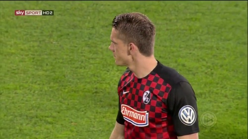 Nils Petersen - SC Freiburg v FCA - DFB Pokal 2015-16 1