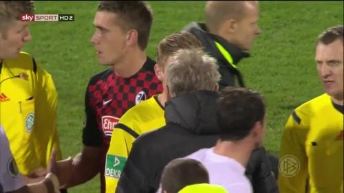 Nils Petersen - SC Freiburg v FCA - DFB Pokal 2015-16 3