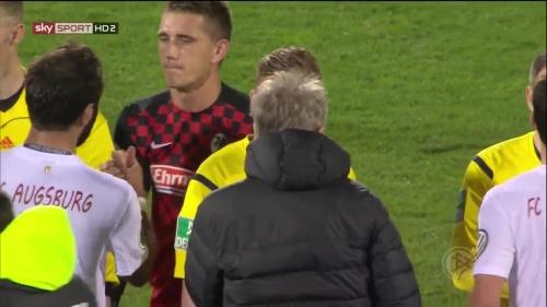 Nils Petersen - SC Freiburg v FCA - DFB Pokal 2015-16 4