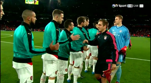 Philipp Lahm - Arsenal v Bayern 1