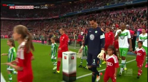 Philipp Lahm – Bayern v Wolfsburg 1