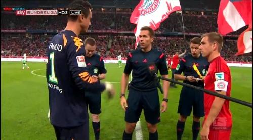 Philipp Lahm – Bayern v Wolfsburg 3