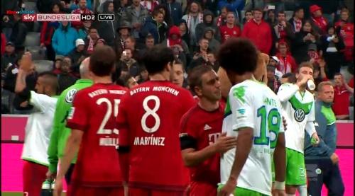 Philipp Lahm – Bayern v Wolfsburg 6