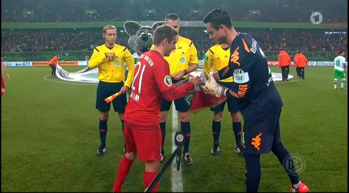 Philipp Lahm – Wolfsburg v Bayern (DFB Pokal 15-16) 1