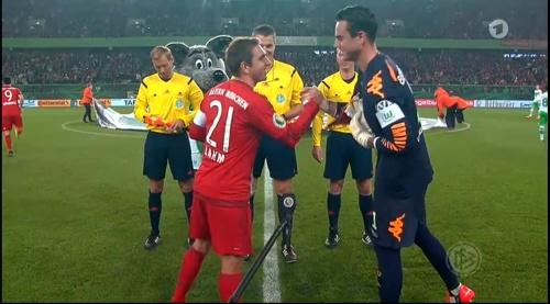 Philipp Lahm – Wolfsburg v Bayern (DFB Pokal 15-16) 2