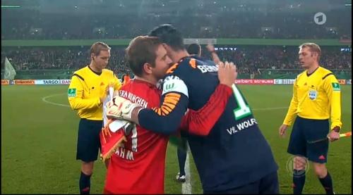 Philipp Lahm – Wolfsburg v Bayern (DFB Pokal 15-16) 5