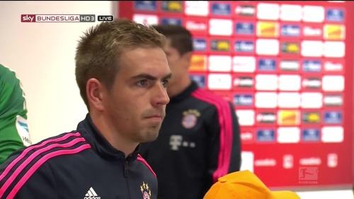 Philipp Lahm - Mainz v Bayern 1
