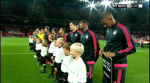 Robert Lewandowski - Arsenal v Bayern