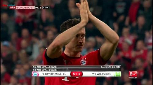 Robert Lewandowski – Bayern v Wolfsburg 2