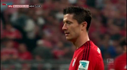 Robert Lewandowski – Bayern v Wolfsburg 6