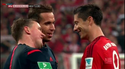 Robert Lewandowski – Bayern v Wolfsburg 7