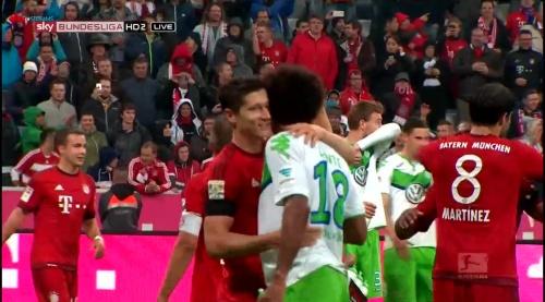 Robert Lewandowski – Bayern v Wolfsburg 9
