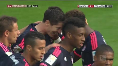 Robert Lewandowski – Mainz v Bayern 4