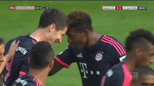 Robert Lewandowski – Mainz v Bayern 5
