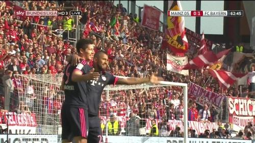 Robert Lewandowski – Mainz v Bayern 6